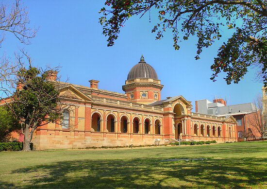Goulburn Court House circa 1887 by Rosalie Dale