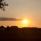 Country Sunset by tabbymichelle