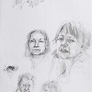 karin, Gili, Alma, Jenifer by limon