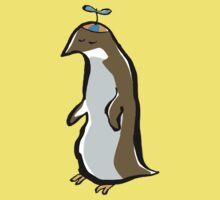 propellerhat penguin Kids Tee