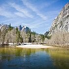 Merced River, Yosemite Valley by Philip Kearney