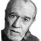 George Carlin by Martin Lynch-Smith