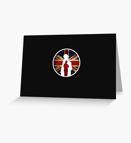 Queen and Country Greeting Card