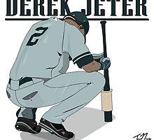 Derek Jeter by javinaranjo