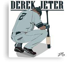 Derek Jeter Canvas Print