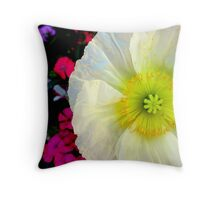 Peaceful Poppy Throw Pillow