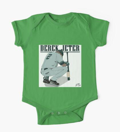 Derek Jeter One Piece - Short Sleeve