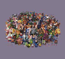 Amiga Game Characters Kids Tee