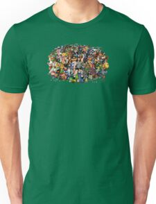 Amiga Game Characters Unisex T-Shirt