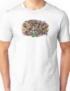 Amiga Game Characters Unisex T-Shirt