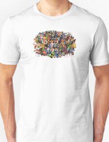 Amiga Game Characters T-Shirt