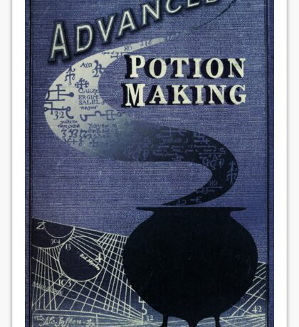 Libatius Borage's Advanced Potion Making  Sticker