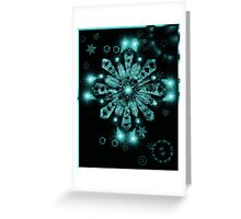 Star C Sensation 10 Greeting Card