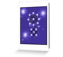 Star D Sensation 5 Greeting Card