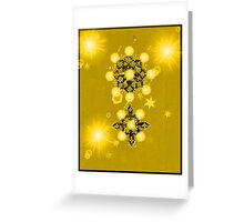 Star D Sensation 6 Greeting Card