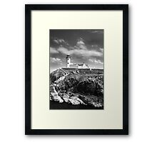 Fanad Head Lighthouse In Donegal, Ireland Framed Print