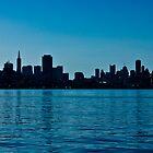 San Francisco Skyline by Philip Kearney