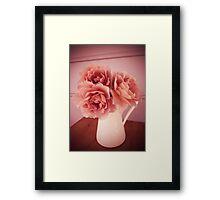 smell the roses Framed Print