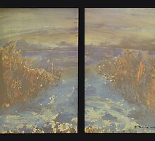 Beyond - diptych by © Pauline Wherrell