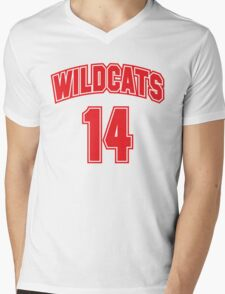 Wildcats 14 Mens V-Neck T-Shirt