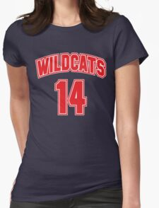 Wildcats 14 Womens Fitted T-Shirt