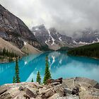 Moraine Lake by Thomas Plessis