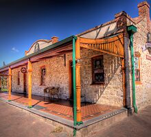 Normanville Hotel, Fleurieu Peninsular, South Australia by Mark Richards