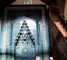 Wooden mosk by Peter Voerman