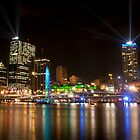 City of Lights, Brisbane Festival 2011 by lu138