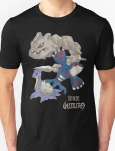 Becci's Kyogre, Lapras and Steelix T-Shirt
