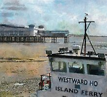 The new Grand Pier Weston-Super-Mare, Somerset, UK by buttonpresser