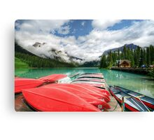 Emerald Lake Canvas Print