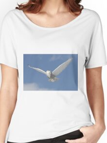 Snowy Angel Women's Relaxed Fit T-Shirt