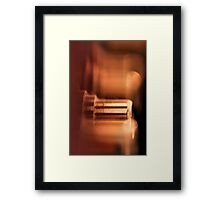 Dreamy connection... Framed Print