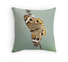 Common Buckeye... Throw Pillow