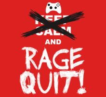 RAGE QUIT! The Xbox Version Kids Tee