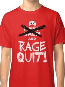 RAGE QUIT! The Xbox Version Classic T-Shirt