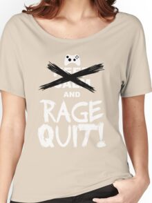 RAGE QUIT! The Xbox Version Women's Relaxed Fit T-Shirt
