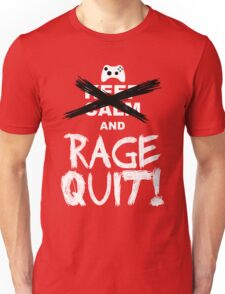 RAGE QUIT! The Xbox Version Unisex T-Shirt