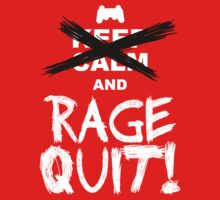 RAGE QUIT! The PS3 Version T-Shirt