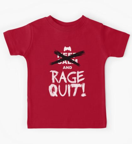 RAGE QUIT! The PS3 Version Kids Tee