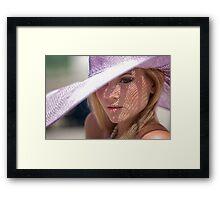 Try Framed Print