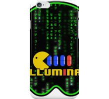 PILLUMINATI - Design#1 by NoirGraphic - Matrix Pac-man  iPhone Case/Skin