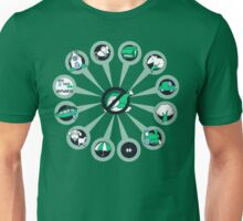 Where I Like Them - Green Eggs and Ham Unisex T-Shirt