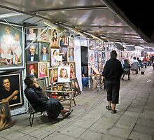 Street Artisits #2 Sunny Beach, Bulgaria. by DonDavisUK