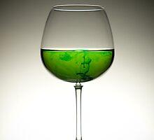 Green Swirl by Mykhaylo Ryechkin