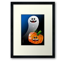 SPOOK 2 Framed Print