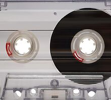 Cassette Tape Mixtape Clear Plastic 2 Sticker by ukedward
