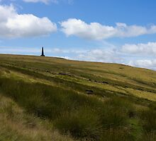 Stoodley Pike Monument, West Yorkshire by Philip Kearney