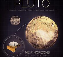 Planet Pluto Infographic NASA by Neil Stratford